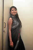 Model Shehnaaz Glam pics in saree-thumbnail-12