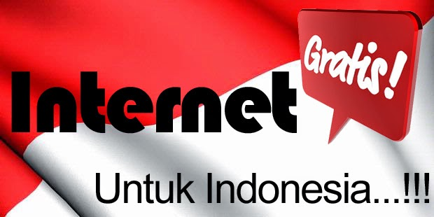 Program Internet Gratis Untuk Indonesia