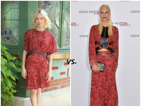 Michelle Williams vs Poppy Delevigne