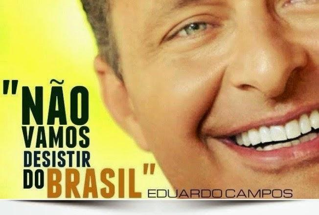"""""""Não vamos desistir do Brasil"""""""