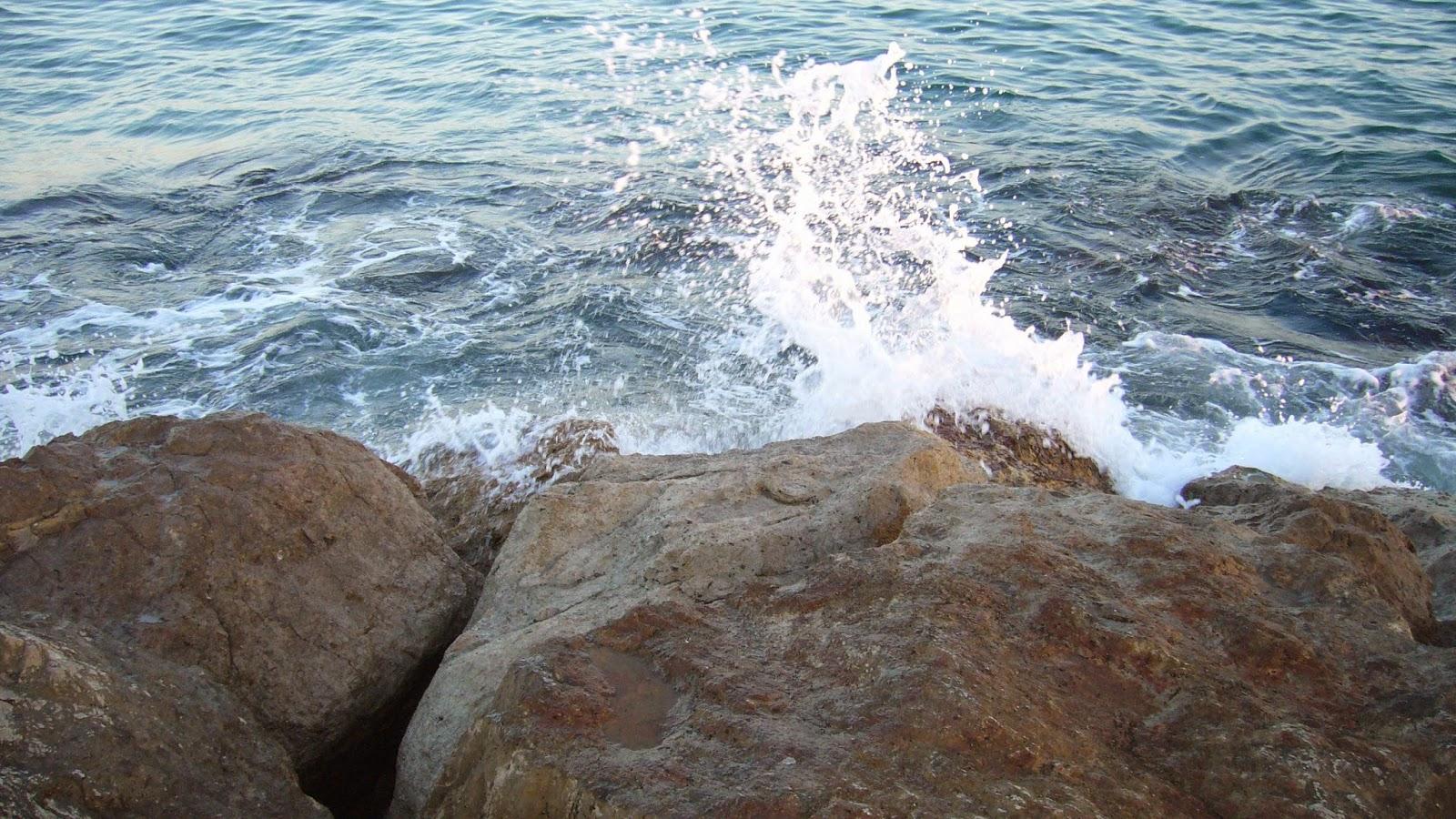 El mar playa Puçol