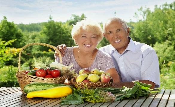 Alimentación personas tercera edad