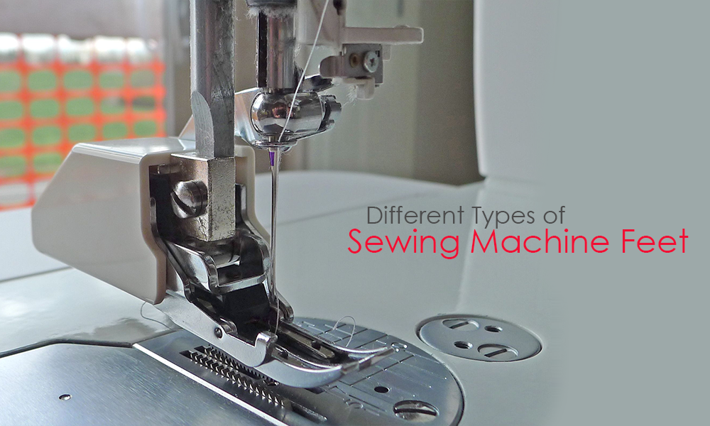 Different Types Of Sewing Machine Feet Enchanting Types Of Sewing Machine Feet