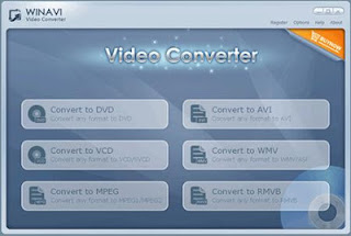 WinAVI Video Converter is a ALL-IN-ONE solution for video file converting and burning including AVI, MPEG1/2/4, VCD/SVCD/DVD, DivX, XVid, ASF, WMV, RM, QuickTime MOV, Flash SWF