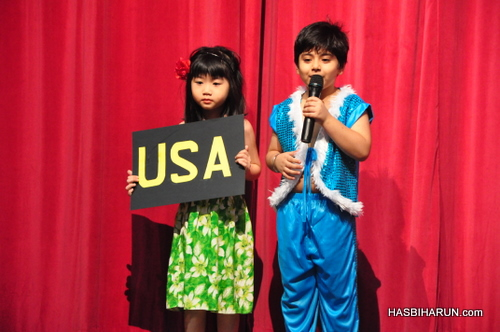 USA show in Smart Reader Kids Annual Concert and Convocation 2012 by premium beautiful top agent