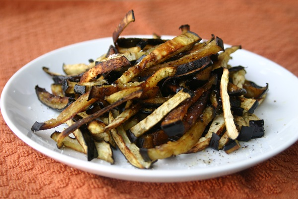 Eggplant Fries Recipe — Dishmaps