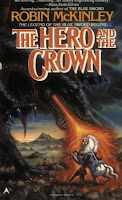 Cover of The Hero and the Crown by Robin McKinley