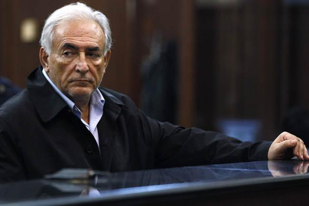 Now, reliable old DSK is an accused sex offender and Sarkozy, of all people, ...