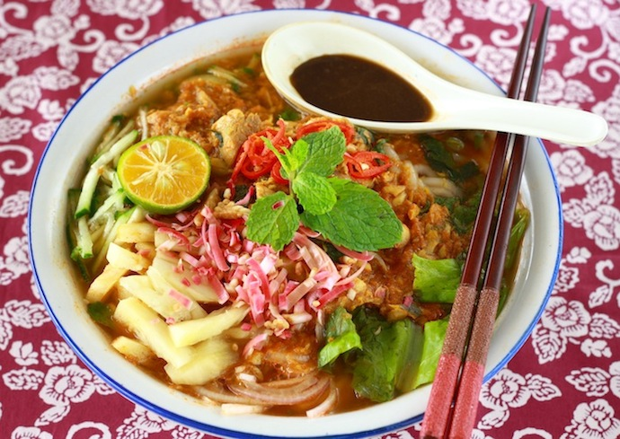 how to make penang asam laksa recipe?