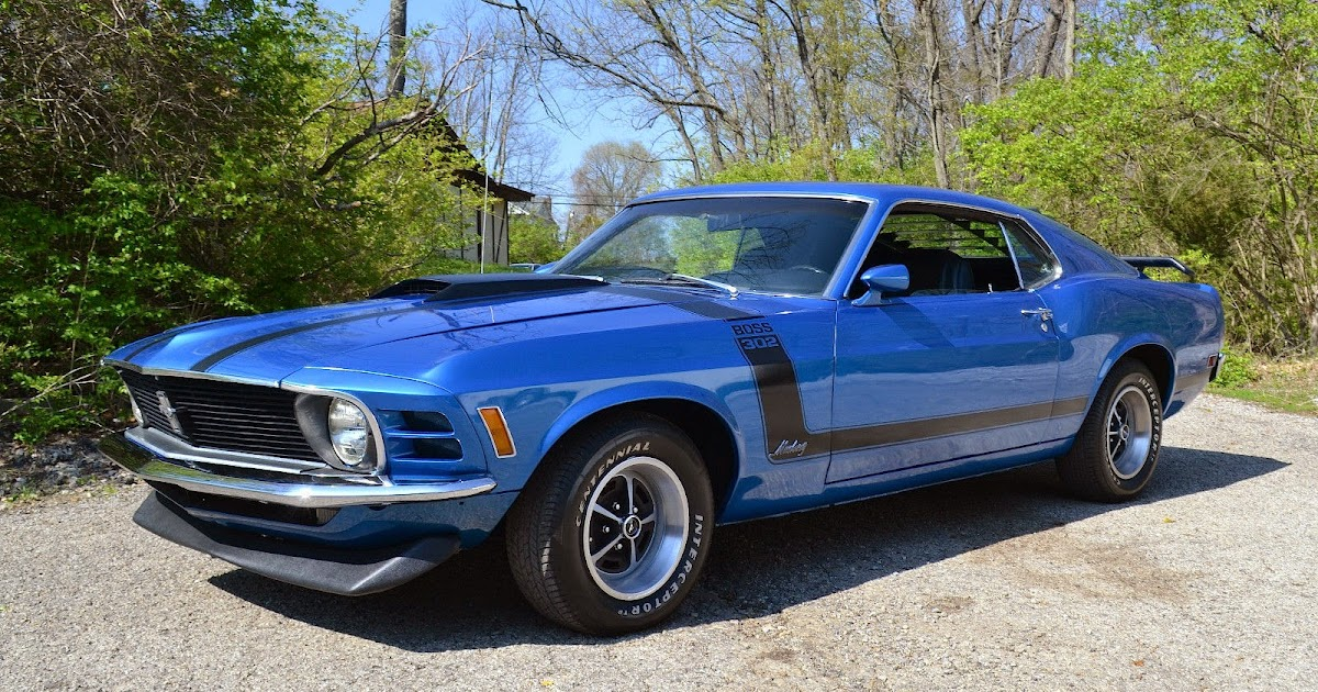 1970 Ford Mustang Boss 302 For Sale American Muscle Cars