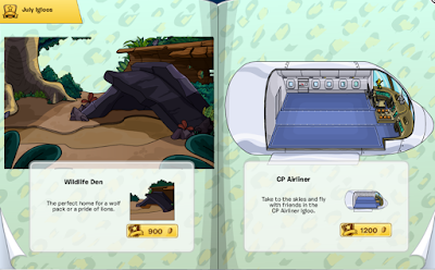 Club Penguin Igloo Catalog Cheats July 2015