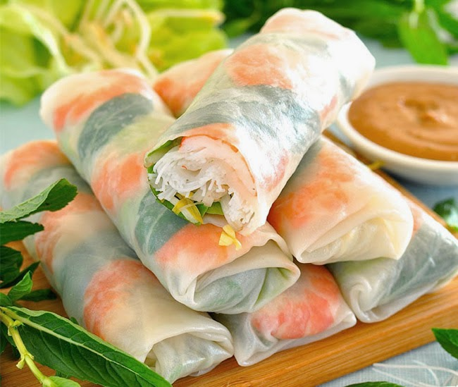 Vietnamese Recipes Rice Paper Spring Rolls All Asian Recipes For You