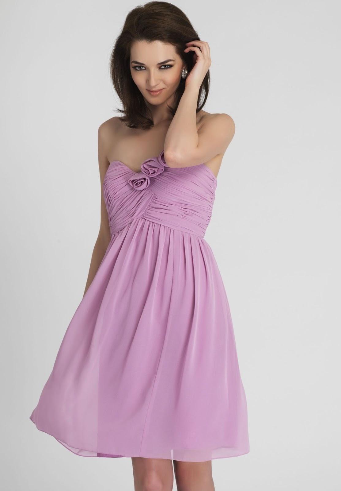 Purple bridesmaid dress march 2013 chiffon strapless sweetheart a line short bridesmaid dress ombrellifo Choice Image