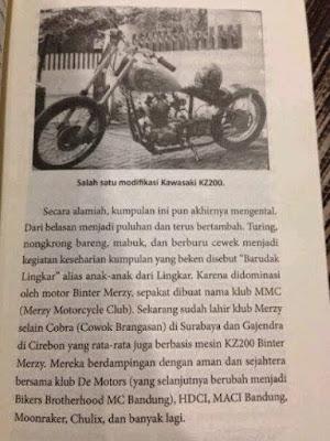 Sejarah Geng Motor Moonraker Indonesia