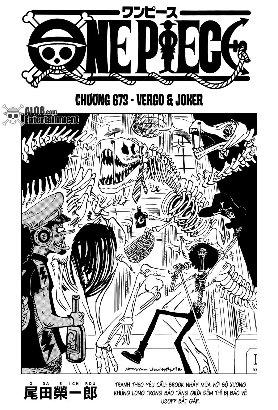 One Piece Chapter 673: Vergo & Joker 001