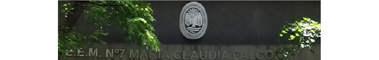 ESCUELA MARIA CLAUDIA FALCONE