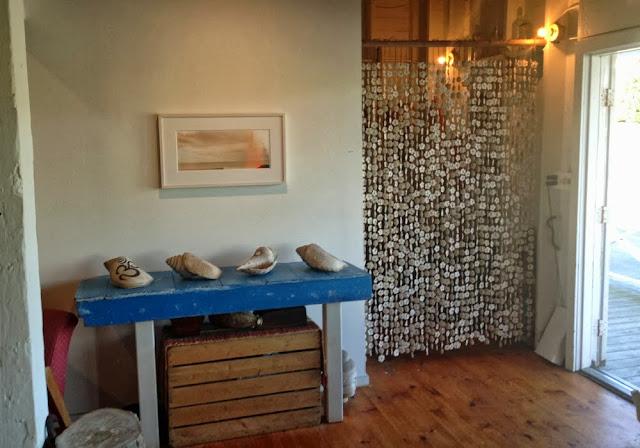 Rideau pampilles ceramique