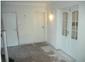 Before shot of door styles