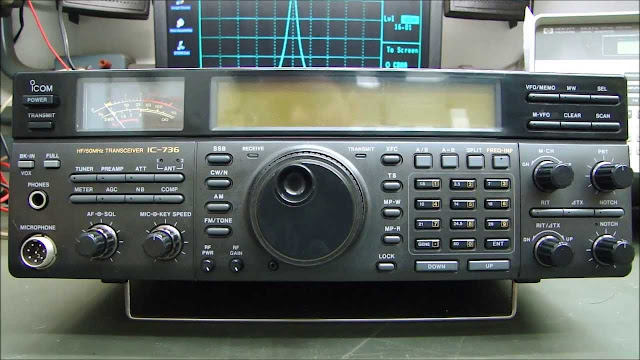 Icom IC-736