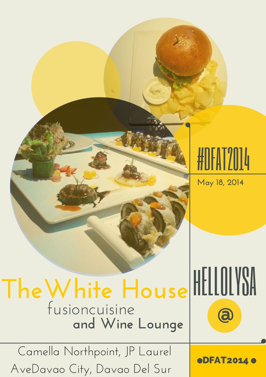 DFAT2014: The White House Fusion Cuisine and Wine Lounge