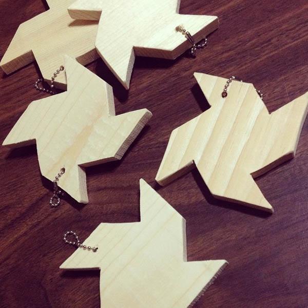 St. Louis Folk Victorian // Kristy Daum - Wood Pinwheels