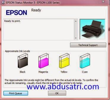 cara memperbaiki printer Epson