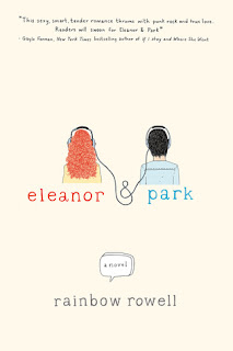Eleanor & Park Rainbow Rowell book cover