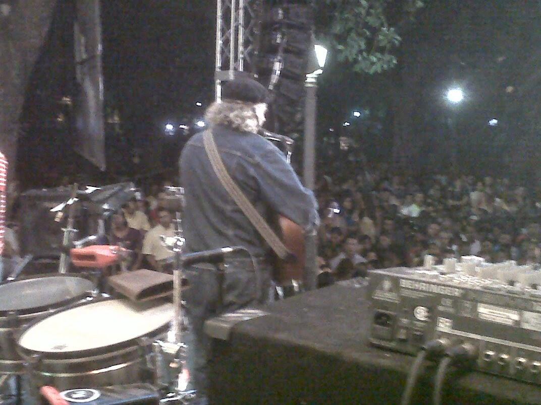 En tarima de patronales en Ocoa 2012