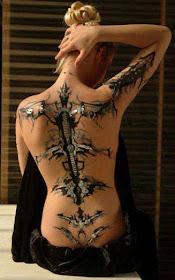 Tattoo piercing intim Genital