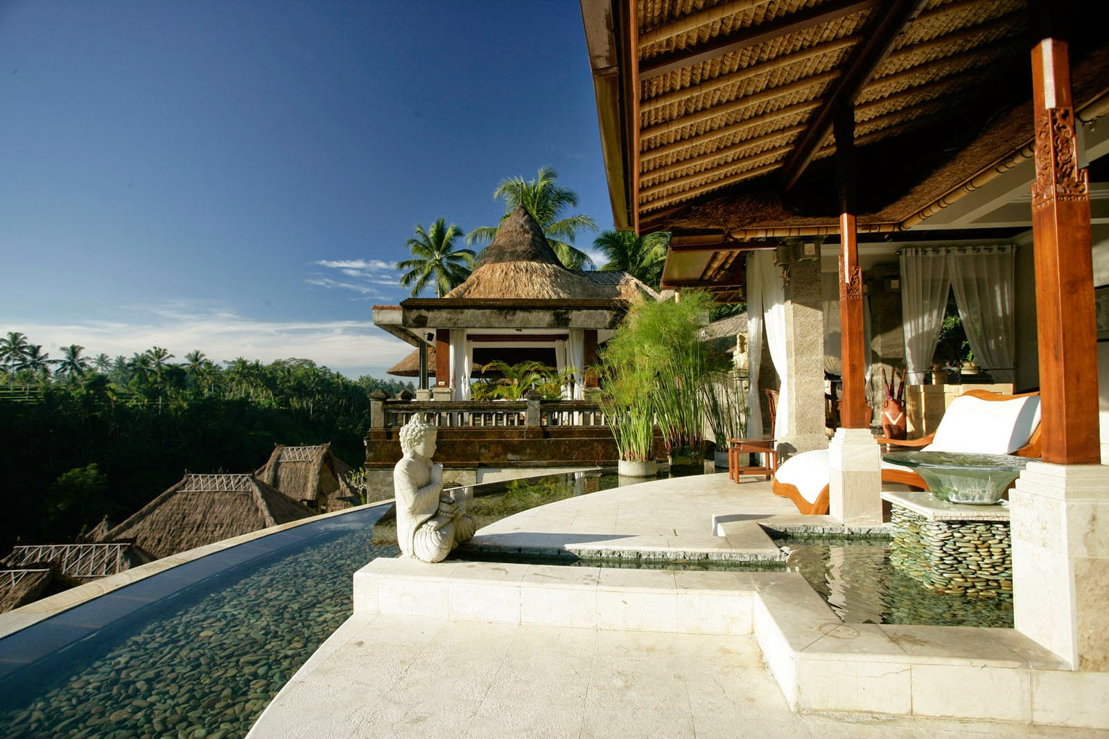 Custom Home Architecture Design With Bali Style