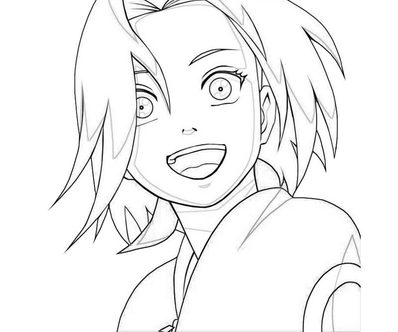 how to draw sakura from naruto shippuden