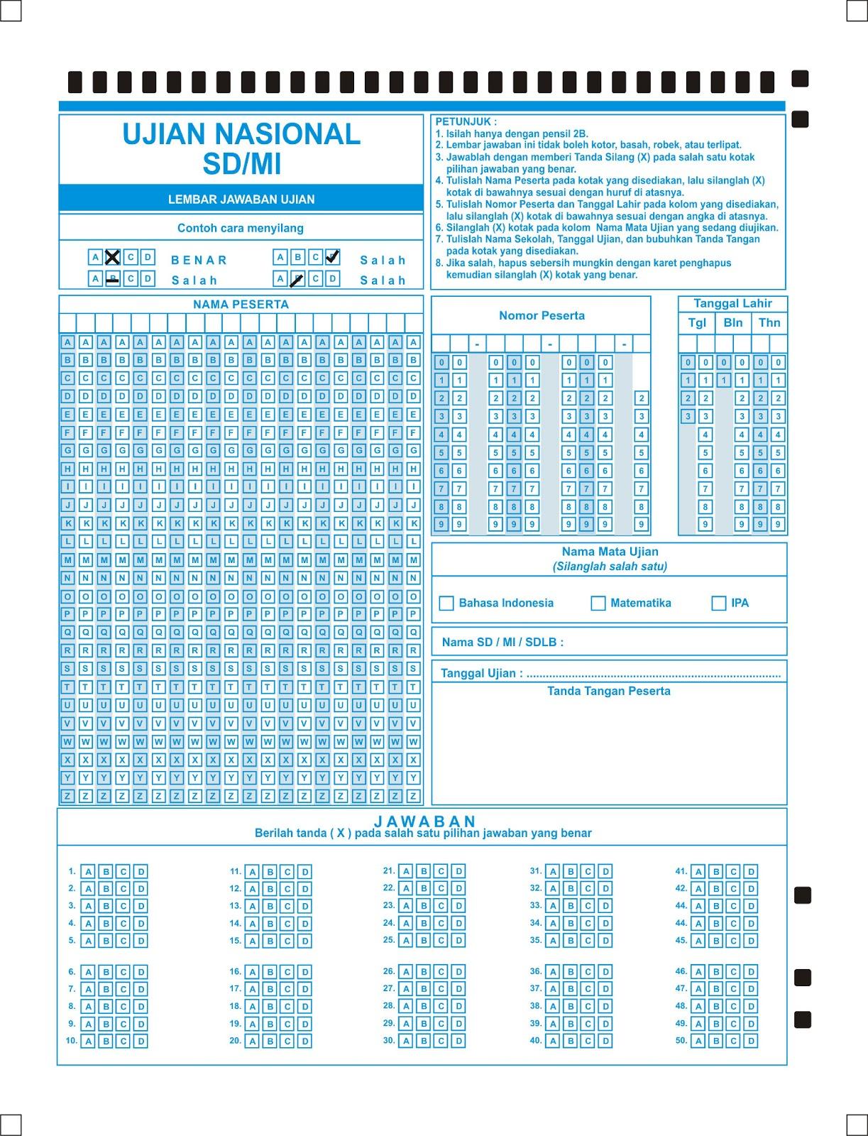 Contoh Soal Ujian Nasional Pakai Komputer Newhairstylesformen2014 Com