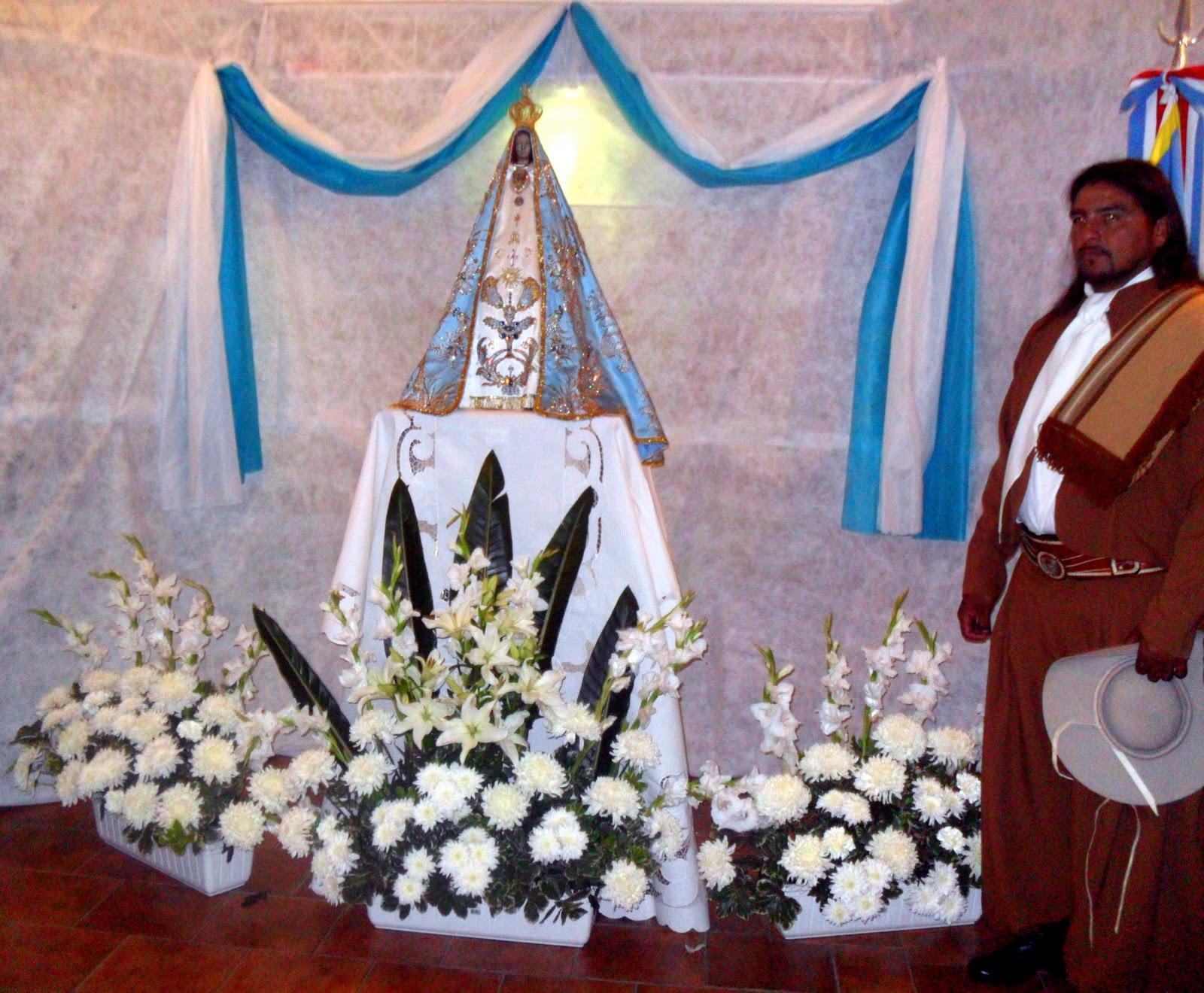Decoracion Altar Virgen De Guadalupe ~   se visti? de gala para recibir a la Imagen de la Virgen del Valle