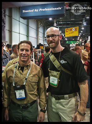 Tom Davin, Tom Harris, Shot Show 2012, 5.11 tactical pants, 511 tactical pants, 511 tactical, 5.11 clothes, 5.11 Stryke Pants, 5.11 clothing, Airsoft Obsessed, Tom Harris Media, Tominator,