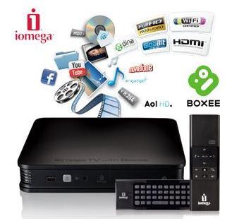 HD-Media-Player Iomega TV Boxee 2TB bei iBood für 250,90 Euro (Vergleichspreis: 355,99 Euro)
