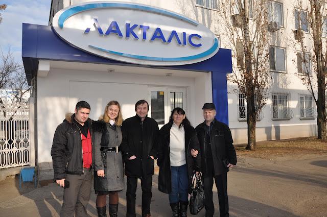 Представники Федерації обмінів Франція-Україна у МДАУ. Лакталіс.