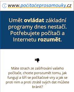 Pracujte s počítačem a využívejte Internet s porozuměním, efektivně a bezpečně.
