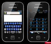 COLD BLUE Theme for All Custom Rom of Galaxy Y