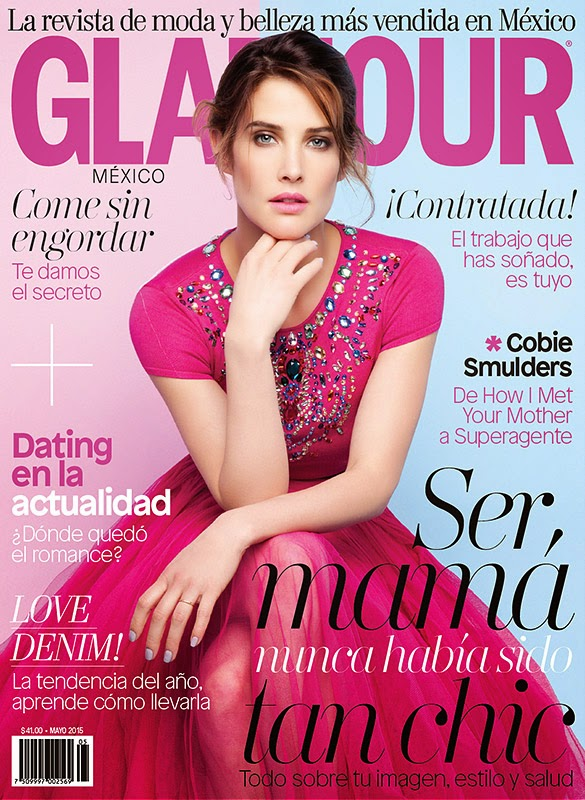 Actress @ Cobie Smulders for Glamour Mexico, May 2015