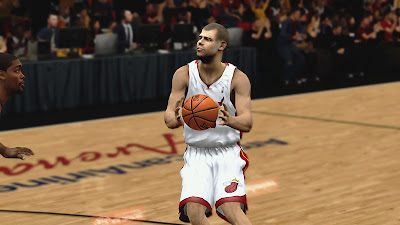NBA 2K13 Shane Battier Cyberface Patch