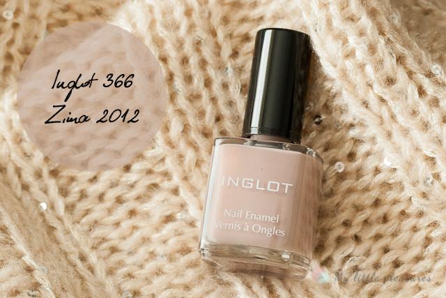 NOTD # 2 - Inglot 366, coś dla kawoszy