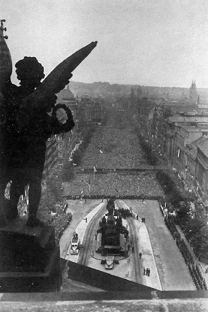 Прага, июль 1942 года