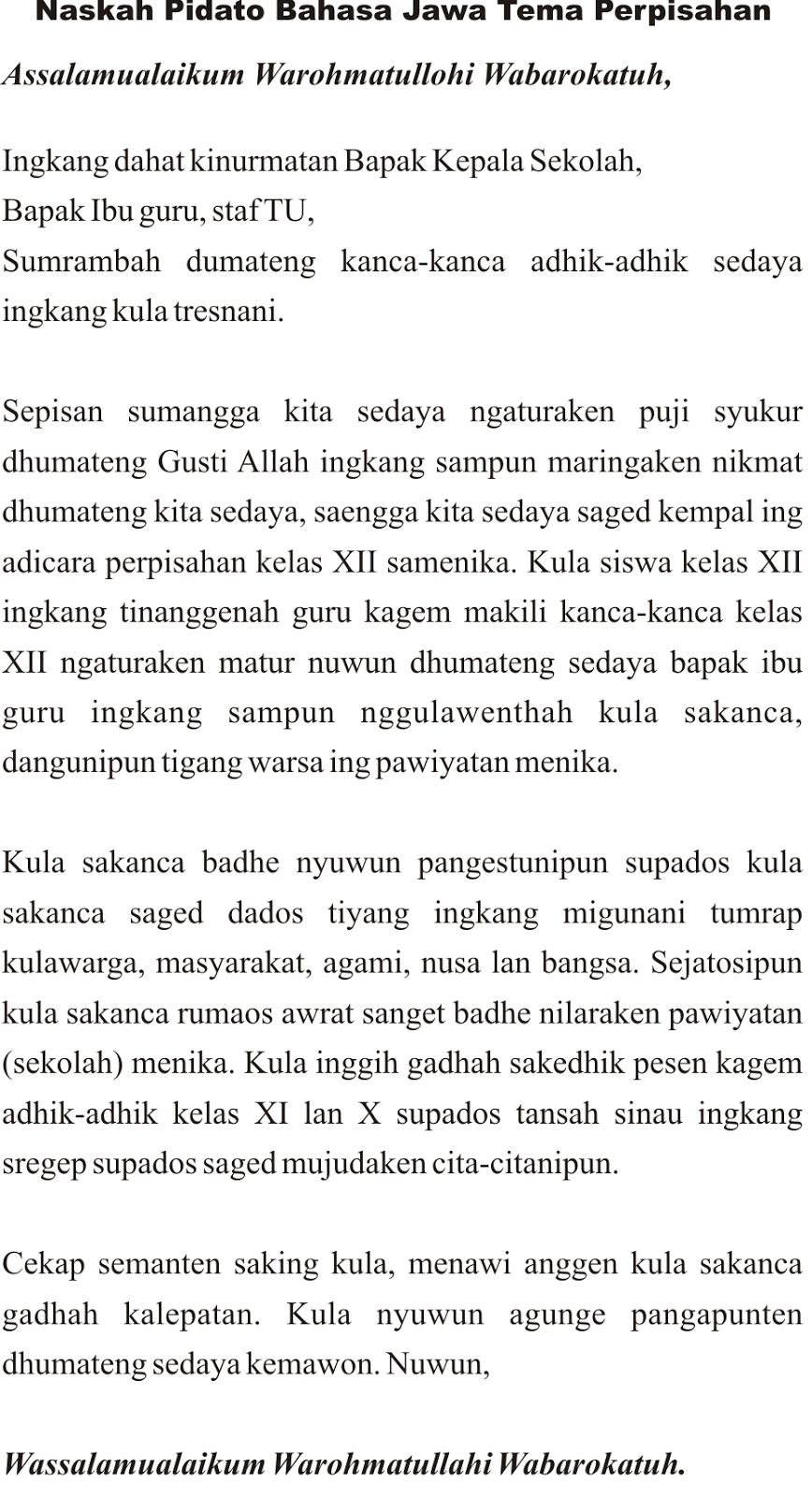 Contoh text argumentative