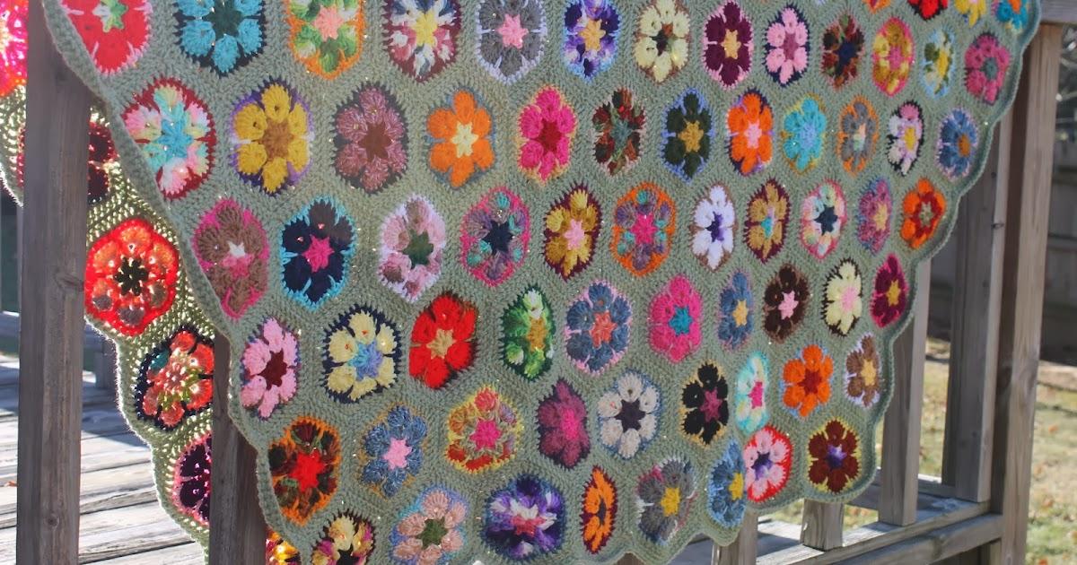 The Flower Bed Mom S African Flower Blanket
