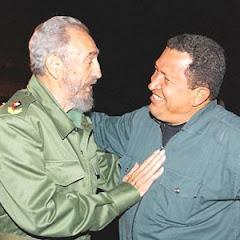 Chavez con Fidel vivitos y coleando