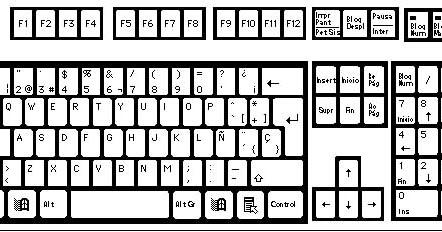 Elkin creaciones como hacer un teclado de pc tarea de - Como hacer una mesa de ordenador ...