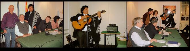 """En el Casal De Catalunia en el """"Recital de Poesias y Canciones"""" (Agosto 2010)"""