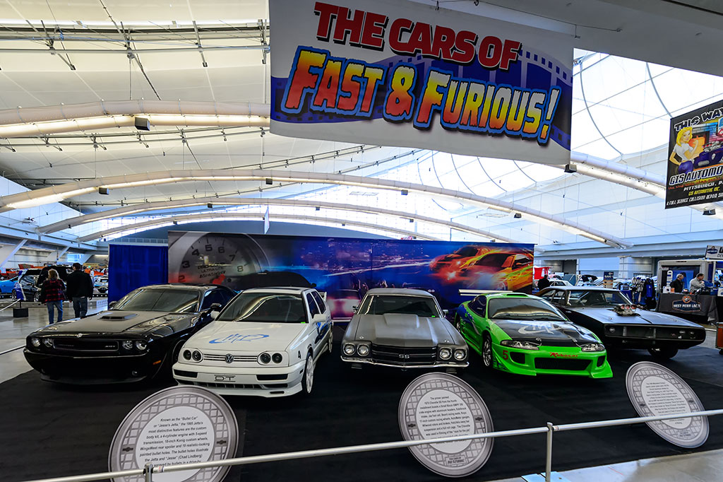 Fast and Furious at World of Wheels