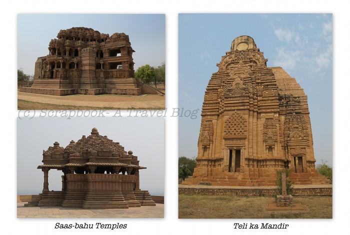 Gwalior Fort Sas bahu temple teli ka mandir