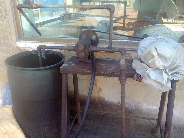 diesel burner pump